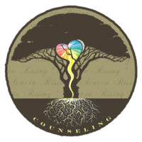 At ACACIA RISING COUNSELING, I offer individual, couple, and family therapy using a strength-based, heart-centered approach grounded in multiple theoretical models, including experiential, emotion-focused, cognitive-behavorial, attachment, systems, and EMDR