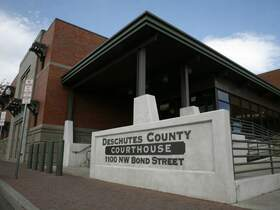 Downtown Bend - Deschutes Court House