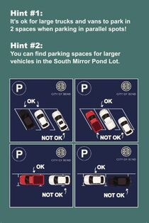 Downtown Bend Parking Education